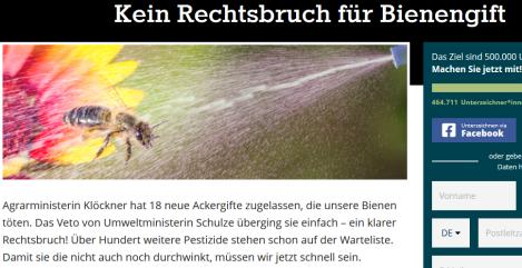 Screenshot_2020-02-19 Kein Rechtsbruch für Bienengift